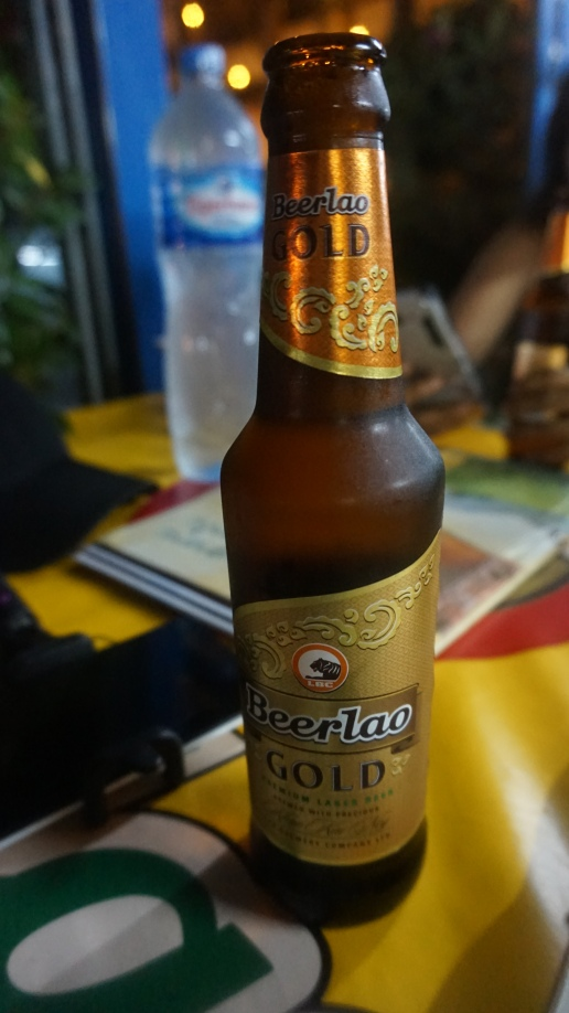Tastiest beer I had. Beerlao Gold